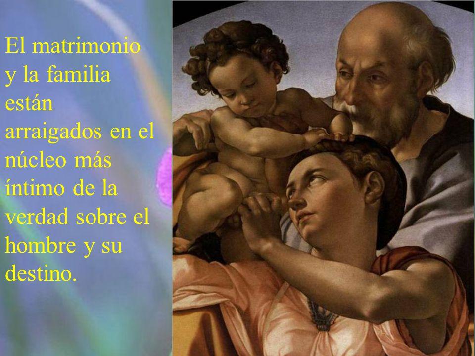 La historia del amor y de la unión de un hombre y de una mujer en la alianza del matrimonio fue asumida por Dios como símbolo de la historia de la sal