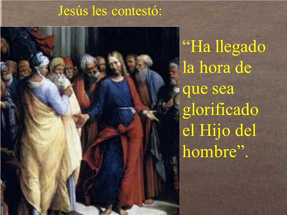 Y Andrés y Felipe fueron a decírselo a Jesús.
