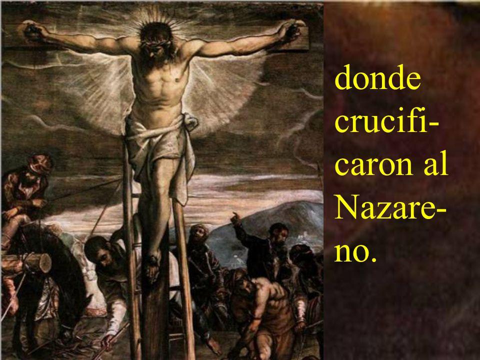 Si san- gre no brota del santo madero,