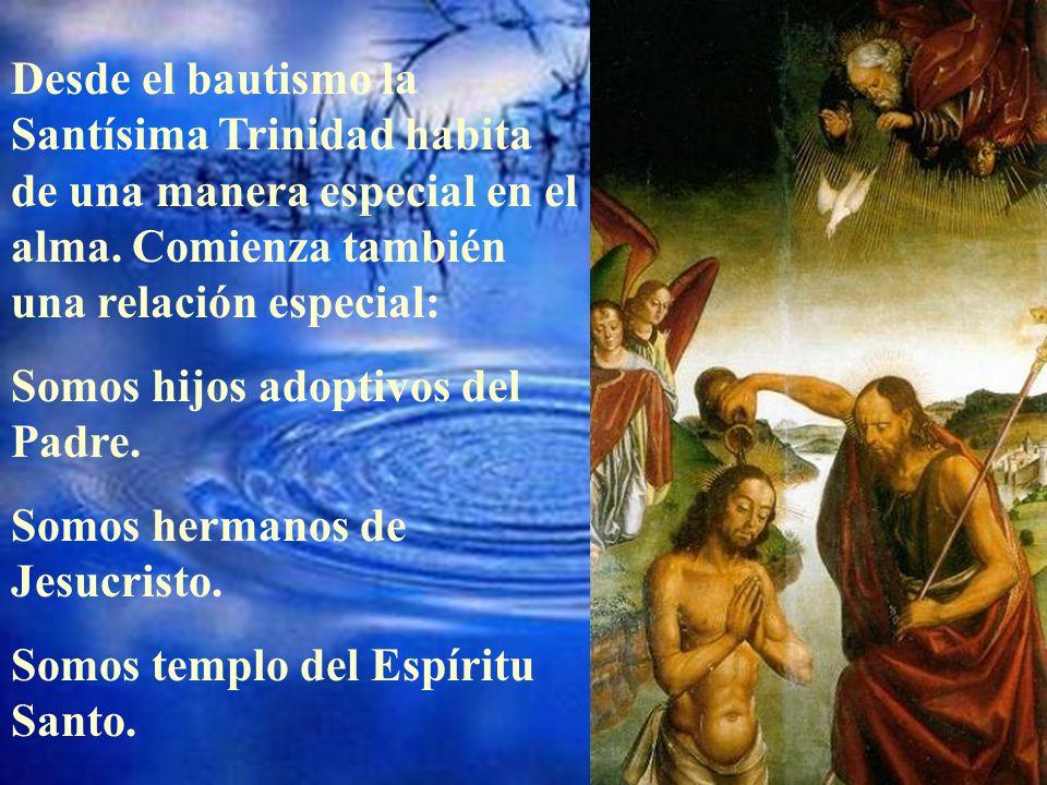 No es necesario que sea pila famosa como ésta de santo Domingo de Guzmán. Cualquier niño bautizado recibe una gran riqueza. Por eso bautizamos a los n