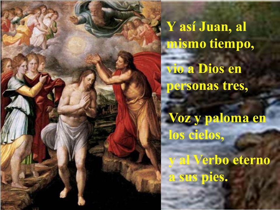 Y se oye la voz del Padre que grita: Tratadlo bien; Escuchadle, es el Maestro, mi hijo querido es.