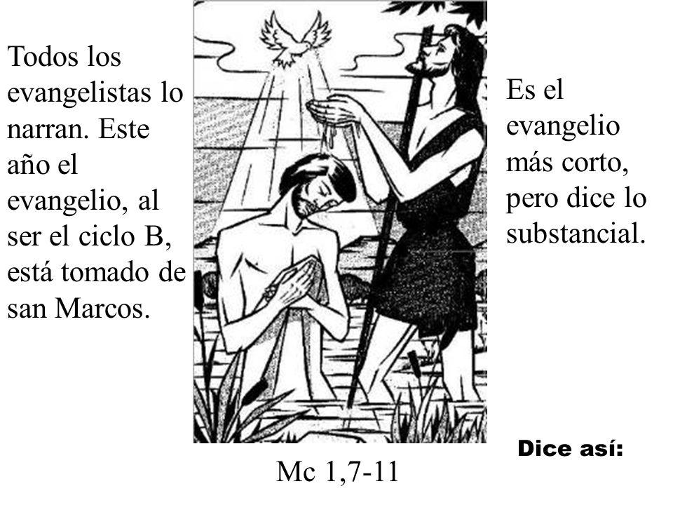 Este acto fue muy importante. Era como la graduación de Jesús. Como si su Padre Dios le dijera: ya estás preparado para la predicación.