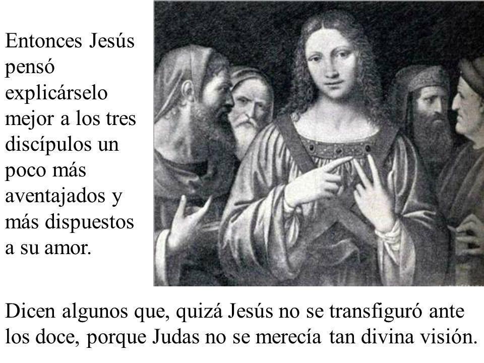 Los apóstoles no entendieron lo de la resurrección y se pusieron muy tristes por lo de la muerte.