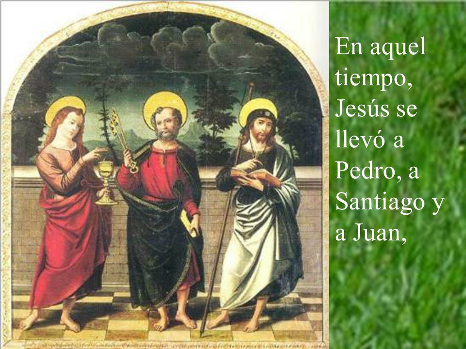 Este año, ciclo B, la Transfigura- ción está contada por el evangelista san Marcos. San Pedro, vidente principal, lo contaba muchas veces. De él lo ap