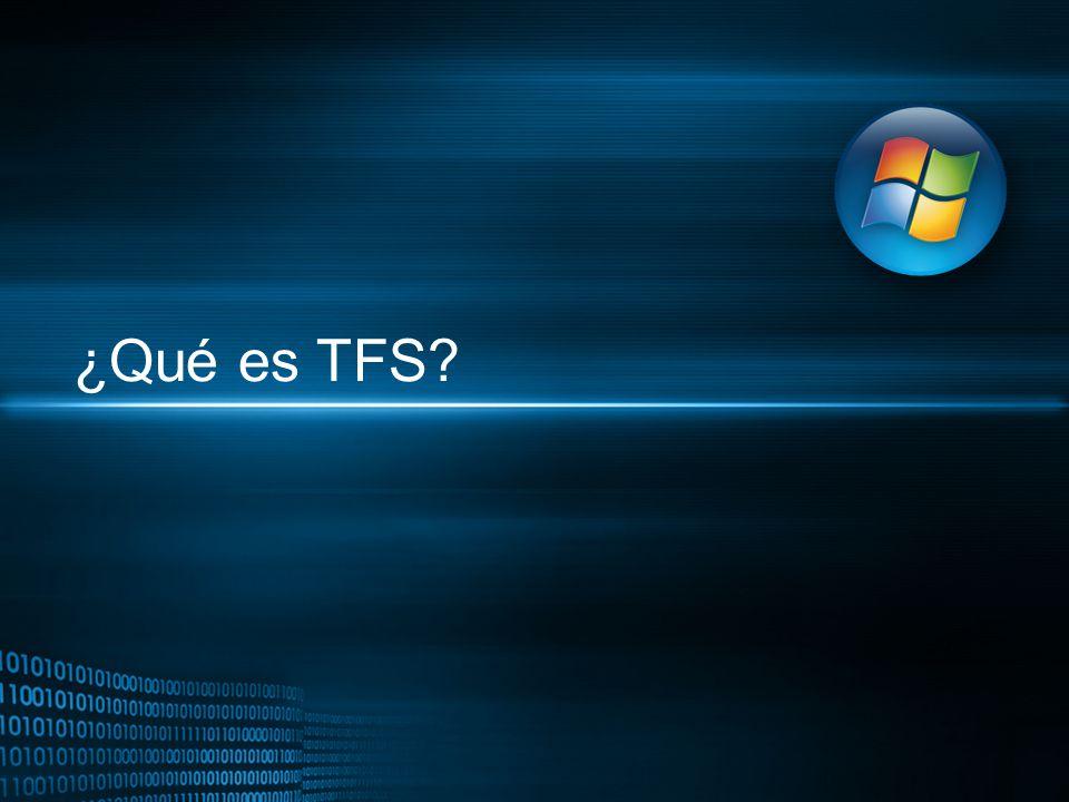 ¿Qué es TFS?