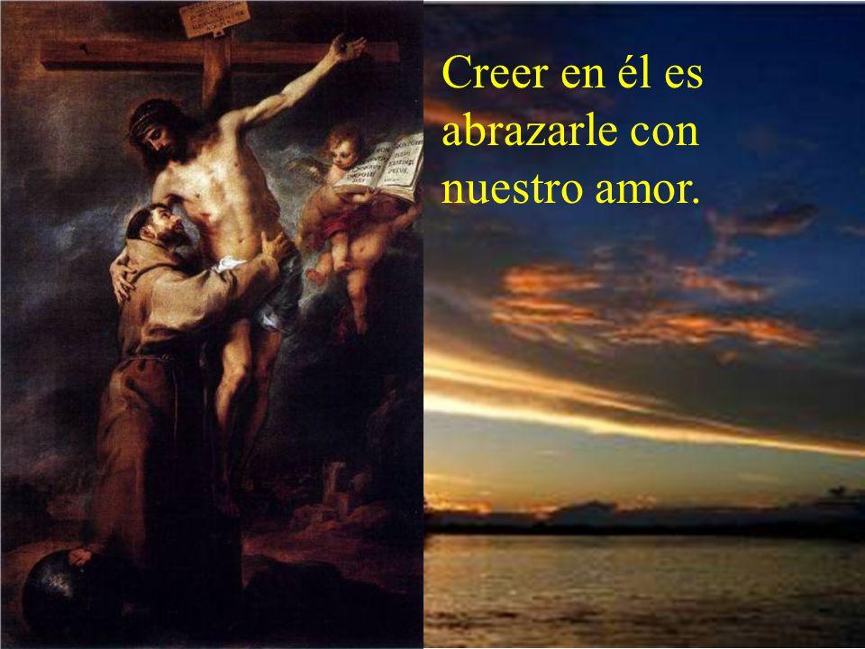 Debemos aprender a mirarle con mucho amor, correspondiendo a todo su infinito amor. Nos ama tanto tanto, que murió en la cruz por nosotros.