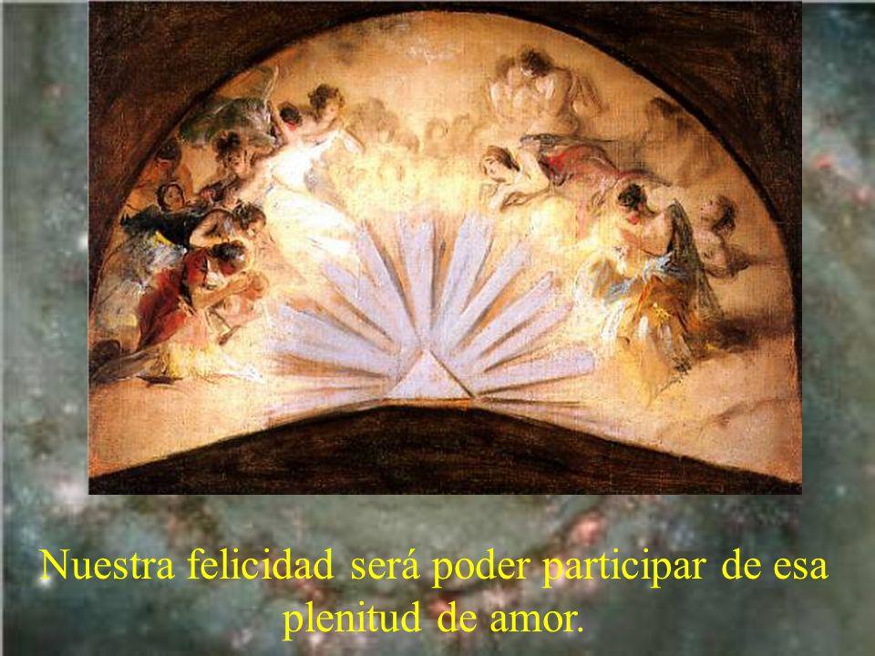 Desde toda la eternidad el Padre, el Hijo y el Espíritu Santo, en inmenso gozo, se intercambian la plenitud del amor.
