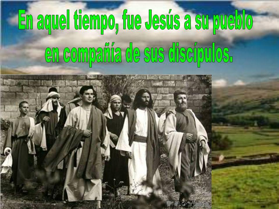 El evangelio de este domingo nos cuenta el hecho de ir Jesús a su pueblo, a Nazaret.
