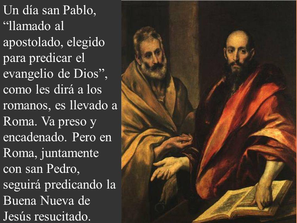 Desde entonces, cambiando el nombre a Pablo, sería el gran predicador de la fe en Jesucristo. Comenzando en Antioquía, llegó a Atenas y otros lugares