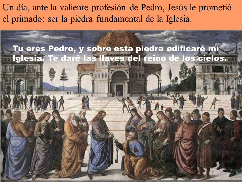 Un día san Pablo, llamado al apostolado, elegido para predicar el evangelio de Dios, como les dirá a los romanos, es llevado a Roma.