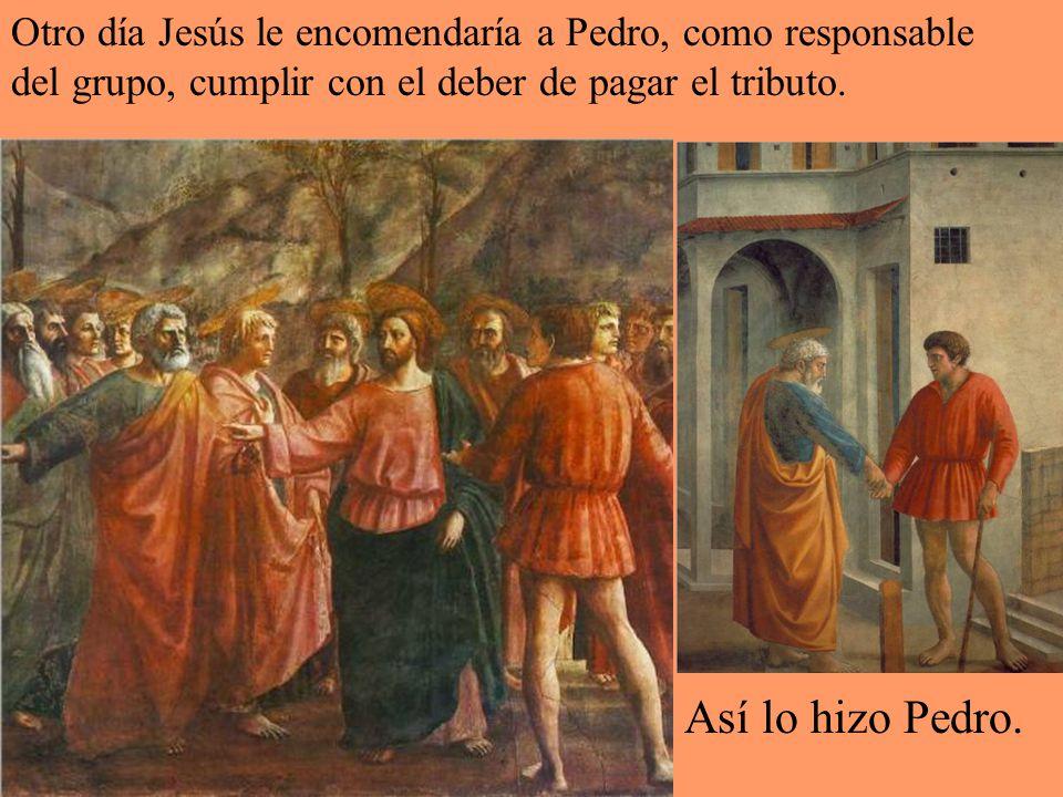 Un día, ante la valiente profesión de Pedro, Jesús le prometió el primado: ser la piedra fundamental de la Iglesia. Tu eres Pedro, y sobre esta piedra