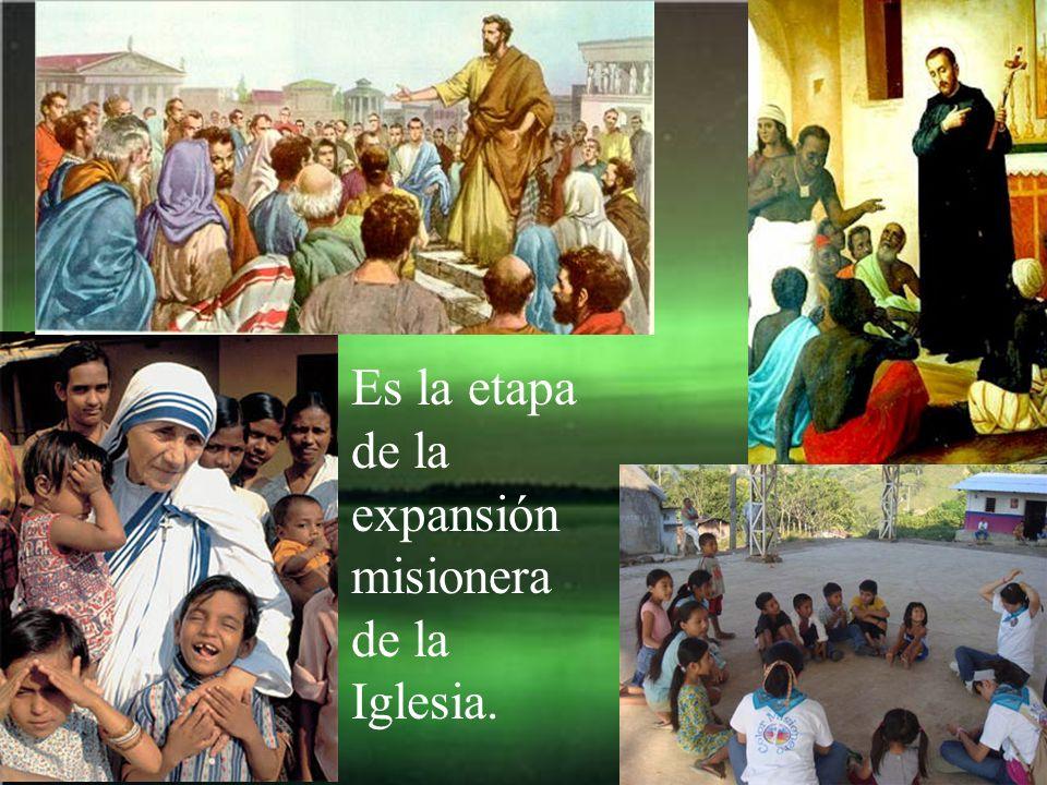 Comienza la segunda etapa de la salvación: La de la ausencia material de Jesús y la presencia del Espíritu Santo.