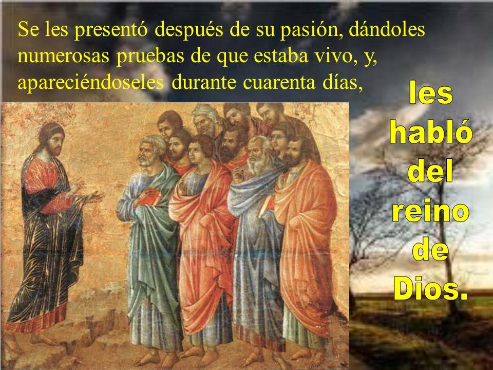 En mi primer libro, querido Teófilo, escri- bí de todo lo que Jesús fue haciendo y ense- ñando hasta el día en que dio instrucciones a los apóstoles, que ha- bía escogido, movido por el Espíritu Santo,
