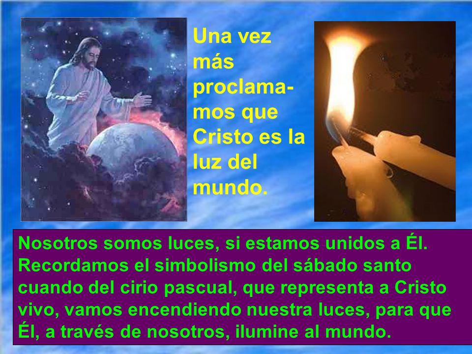 Quien busca la verdadera luz de Dios la encuentra, porque está en lo profundo del alma. Pero a veces la tapan los egoísmos y conveniencias particulare