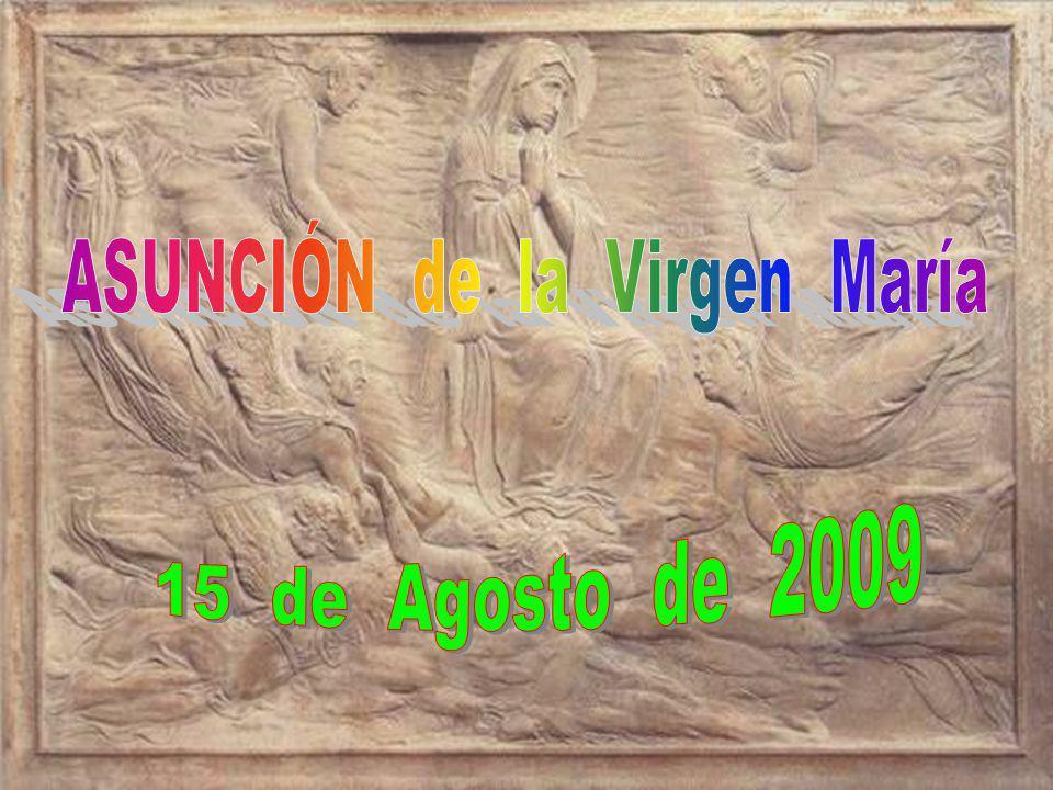 La Asunción de María al cielo, aunque no está en el N.