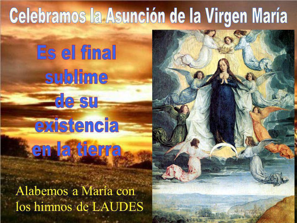 Alabemos a María con los himnos de LAUDES