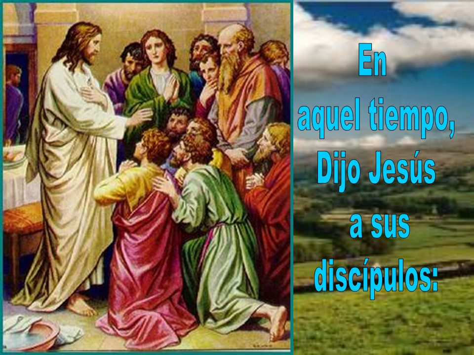 Así nos lo dice hoy Jesús en el evangelio. Debemos estar siempre unidos a El. Jn 15, 1-8 Dice así: