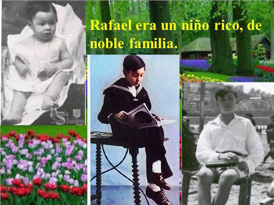 Un joven rico, que sí aceptó la llamada de Jesús, fue el beato Rafael Arnáiz. En este día, 11 de Octubre de 2009, es proclamado santo por el papa Bene