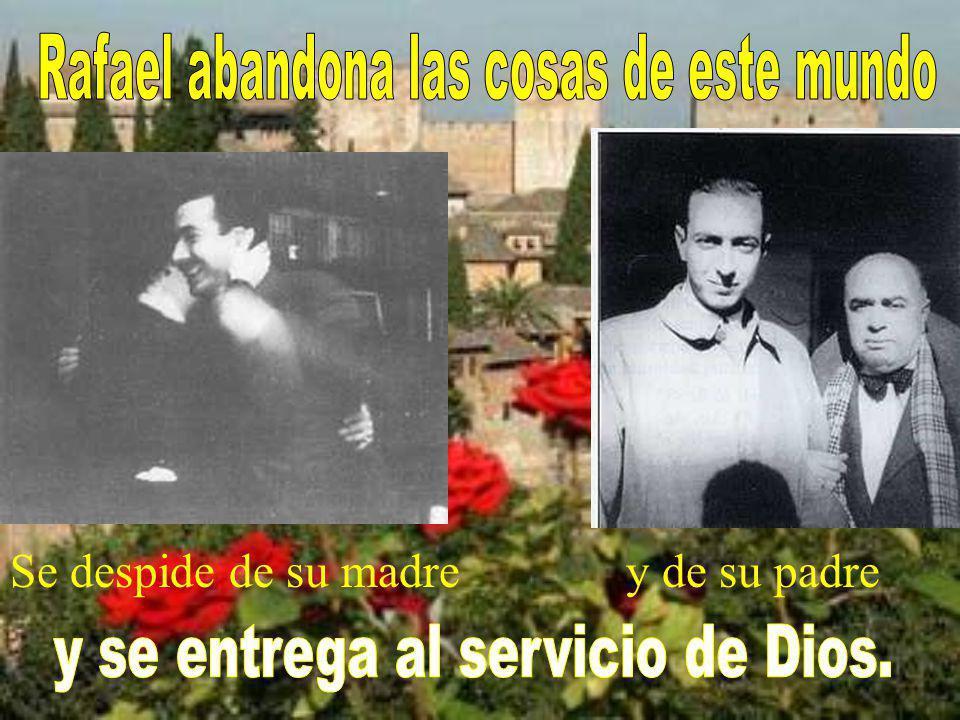 e ingresó en el monas- terio de los trapenses de san Isidro de Dueñas (Palencia – España)
