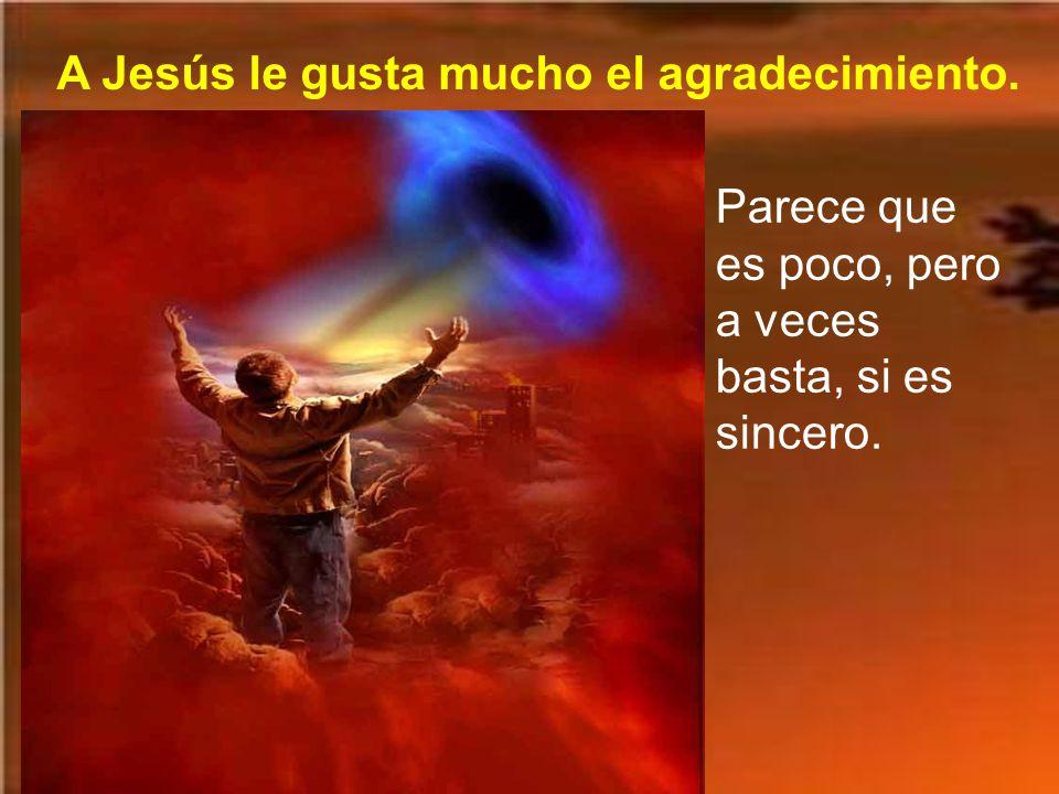 Y le dijo: Levántate, vete; tu fe te ha salvado. Palabra del Señor