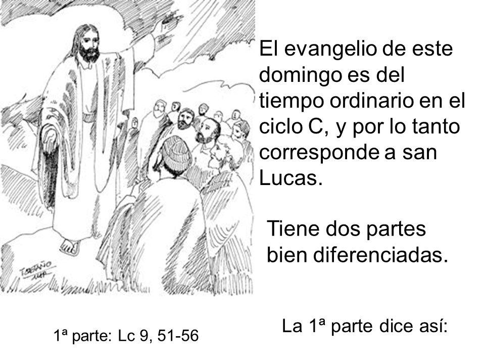 El evangelio de este domingo es del tiempo ordinario en el ciclo C, y por lo tanto corresponde a san Lucas.