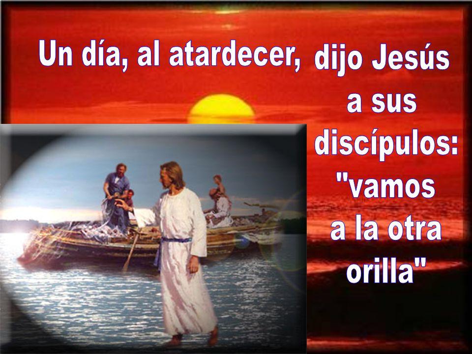 El evangelio de este domingo nos habla de la tormenta calmada por Jesús.