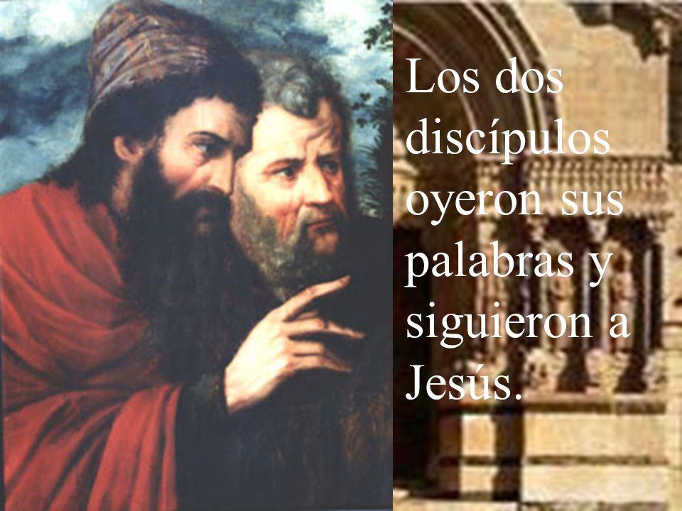 Y, fijándose en Jesús que pasaba, dice: Éste es el Cordero de Dios.