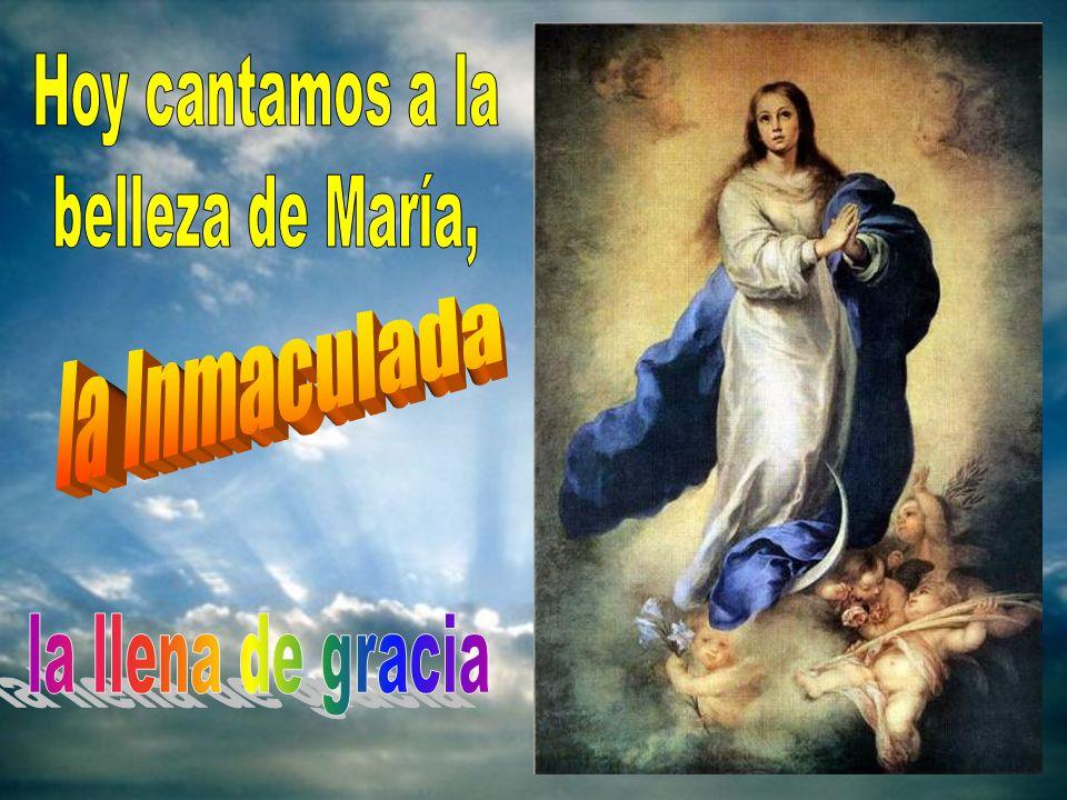 Cantar a la Inmaculada es cantar la grandeza del amor de Dios. Automático