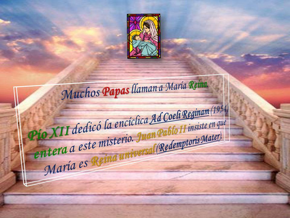 Liturgia: La Iglesia latina entona la Salve Regina, las antífonas Ave Regina caelo- rum y Regina caeli laetare. Destacan las Letanías lauretanas con m