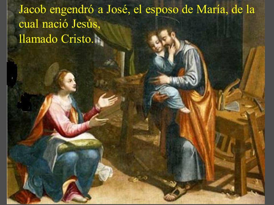 Vamos a seguir su vida, para bendecir a Dios ante la grandeza espiritual de san José. Comenzamos con el evangelio de este día, según el evangelista sa