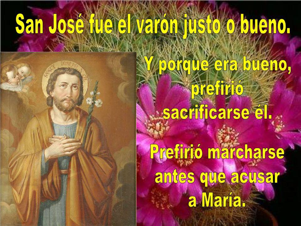 San José fue quien más cerca estuvo de María. No fue fácil ser esposo de la Madre de Dios. Tuvo que ser humilde y fuerte a la vez.
