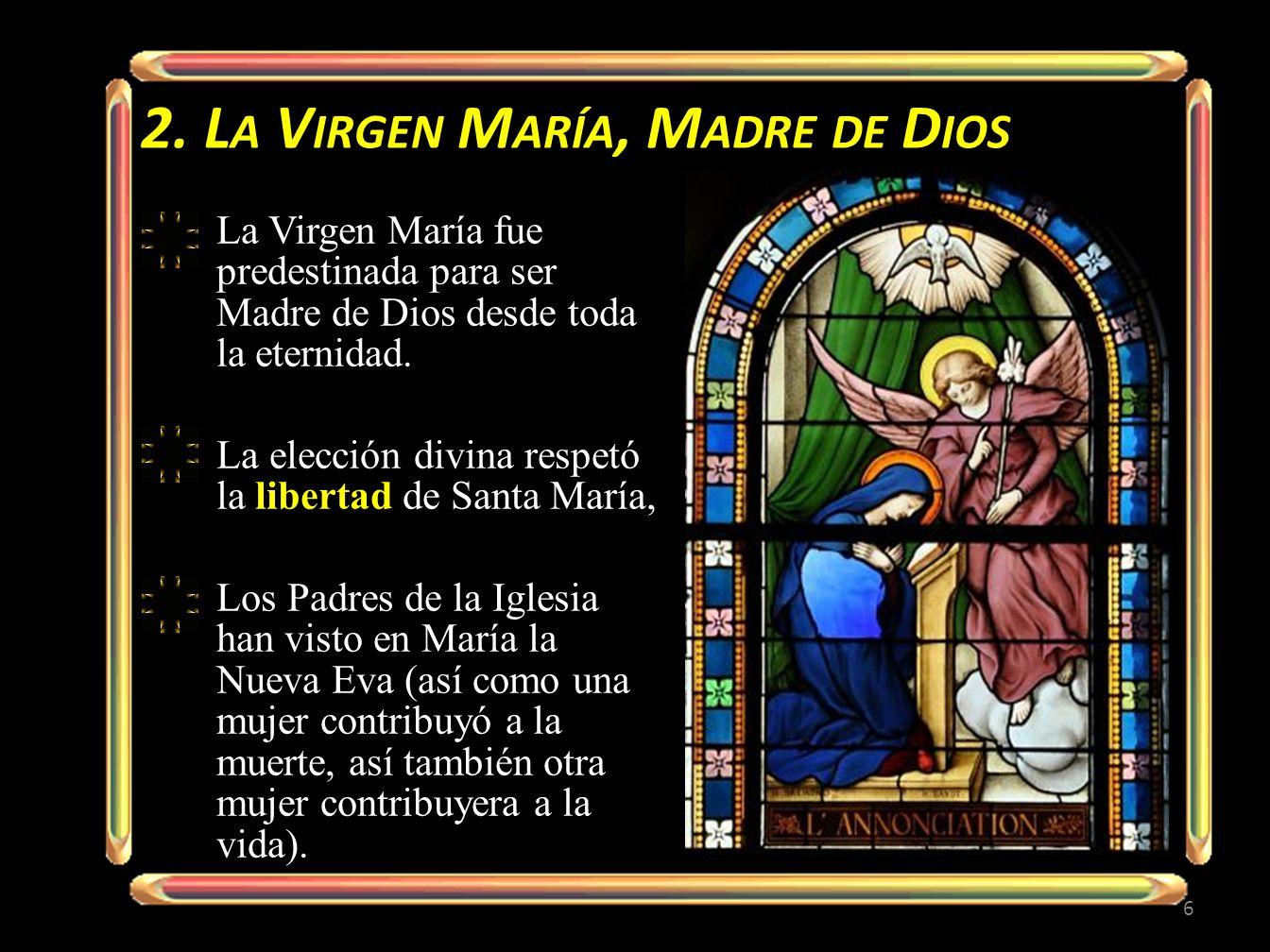 La realeza de María se fundamenta en su maternidad divina y en su asociación a la obra de la Redención.