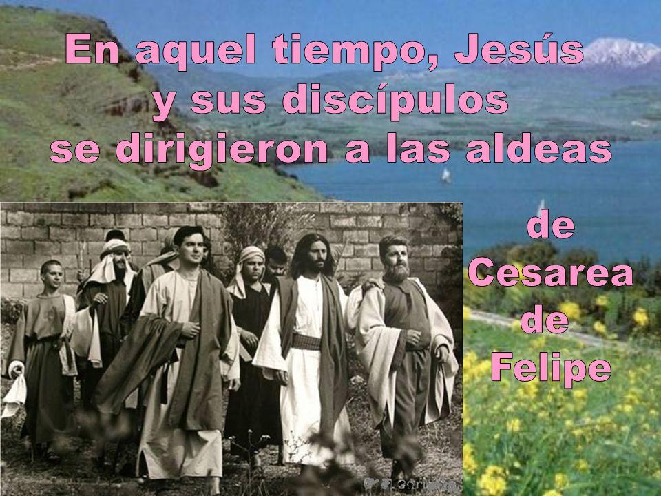 Veamos el evangelio de este día, que está tomado del evangelista san Marcos. Mc 8, 27-35 Dice así: