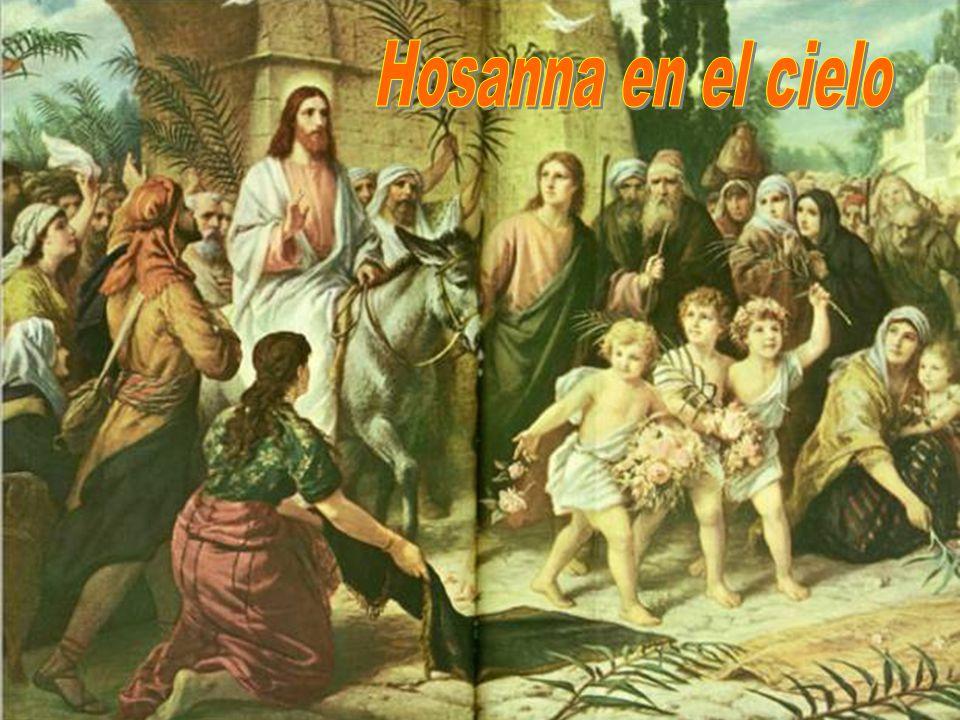 Salieron al encuentro del Señor aclamando