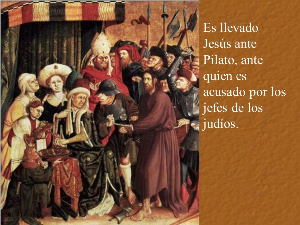 Entonces Pedro reniega de Jesús. Muchas veces san Marcos se lo oiría contar para humillarse y llorar por el pecado.