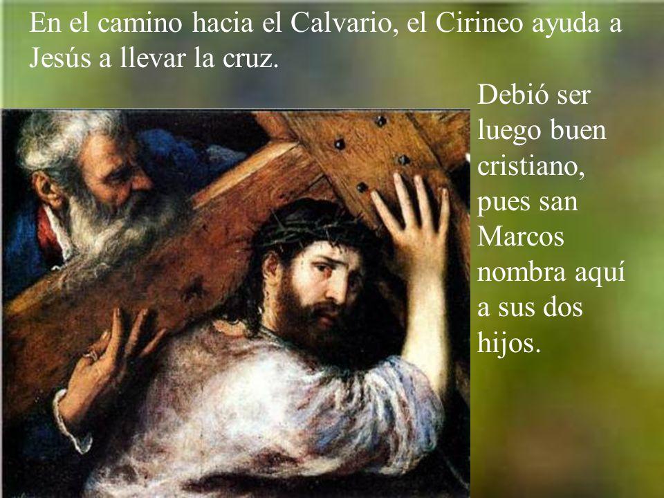 Es llevado Jesús ante Pilato, ante quien es acusado por los jefes de los judíos.