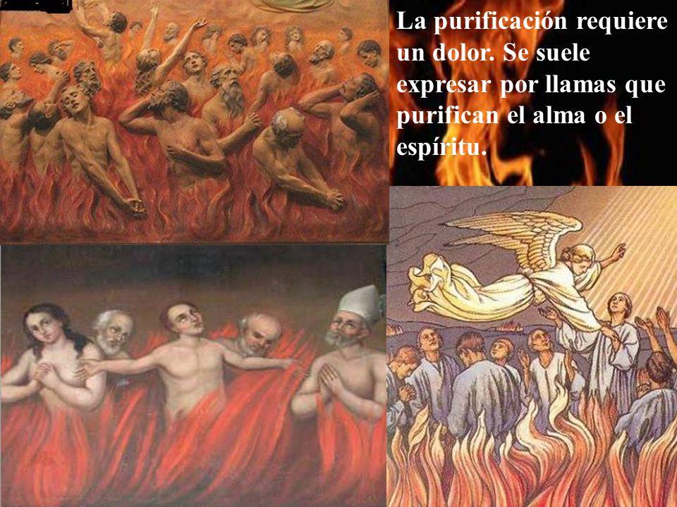 Pero como no es fácil morir totalmente limpios, el Purgatorio existe para que nos podamos limpiar de los pecados pequeños y de los restos de otros pecados.