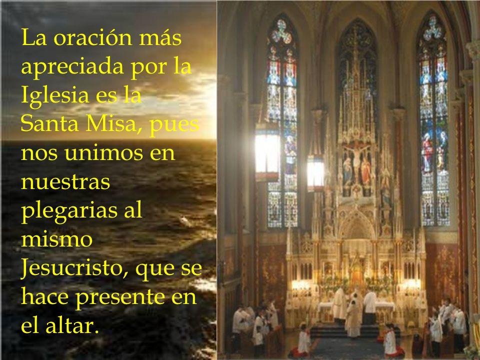 La gran misericordia de Dios se muestra en que los que estamos en esta vida podemos aplicar nuestros méritos a los difuntos, sin que los perdamos. La