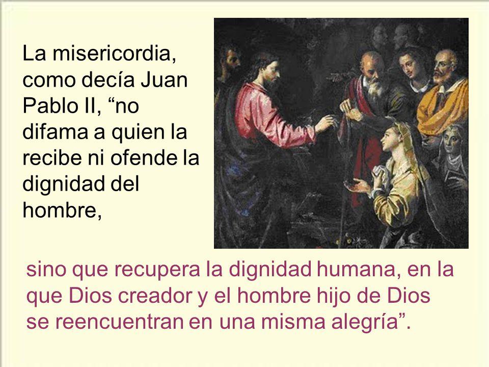 La otra gran ense- ñanza es que debe- mos imitar a Jesús en ser acogedores, especialmente con los que nos han ofendido.