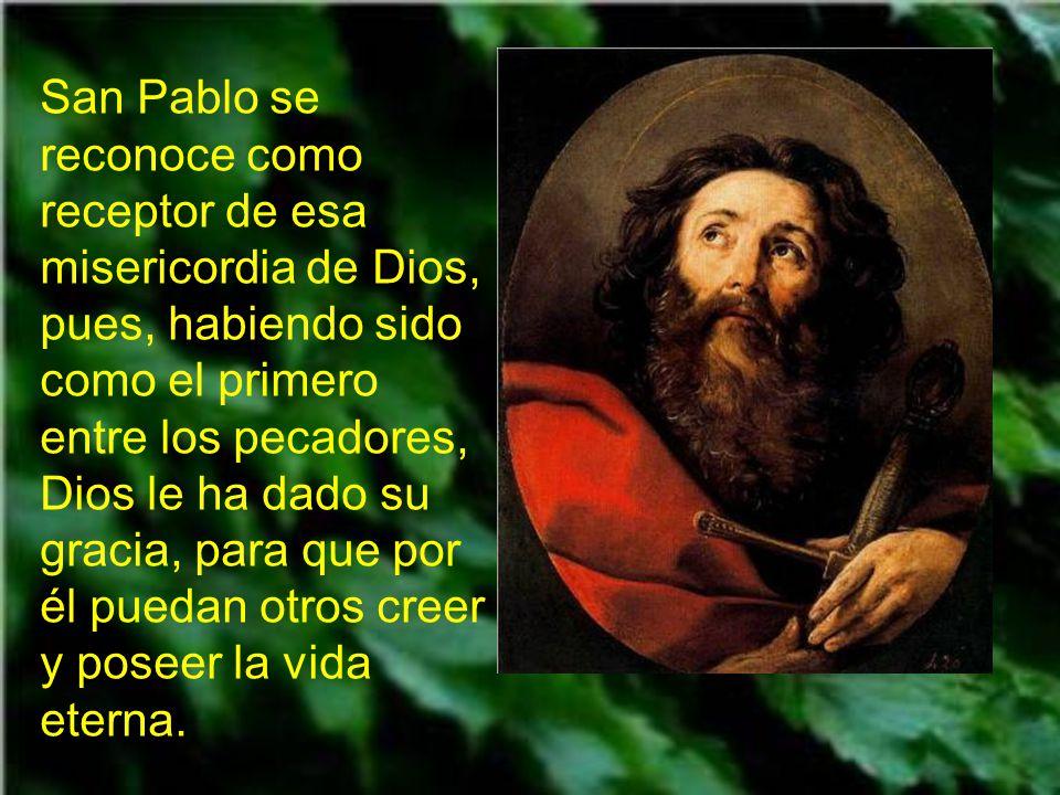 En la segunda lectura nos dice san Pablo que Jesús ha venido al mundo
