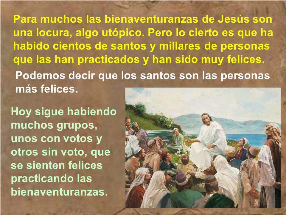 La felicidad que promete Jesús llena el corazón y contagia a otros derramando felicidad alrededor. Quien participa de esta felicidad de Jesucristo, si