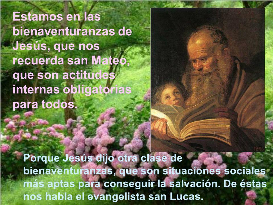Para muchos las bienaventuranzas de Jesús son una locura, algo utópico. Pero lo cierto es que ha habido cientos de santos y millares de personas que l