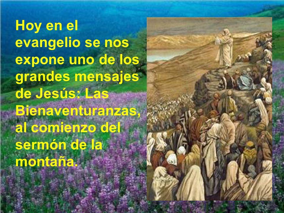 Para muchos las bienaventuranzas de Jesús son una locura, algo utópico.
