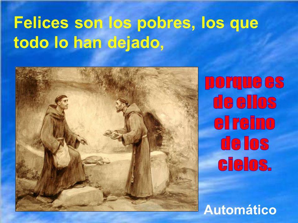 Dios siempre se ha valido de pobres de espíritu para hacer cosas grandes: desde María y José y los apóstoles, siguiendo por muchos fundadores de congr