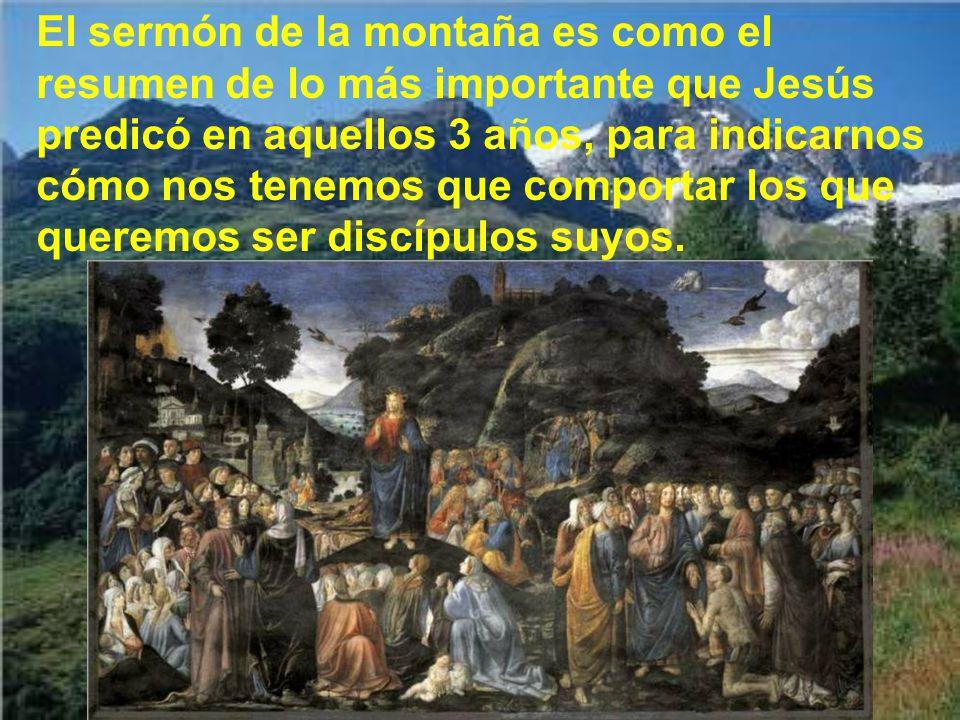 Estamos en las bienaventuranzas de Jesús, que nos recuerda san Mateo, que son actitudes internas obligatorias para todos.