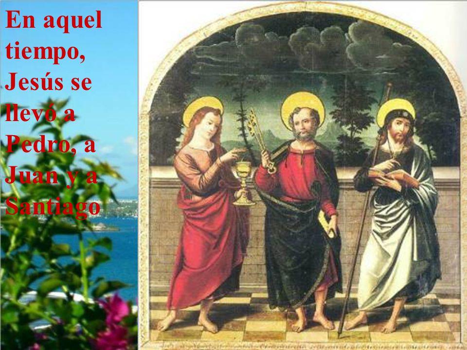 Este año, ciclo C, la Transfigura- ción está contada por el evangelista san Lucas.