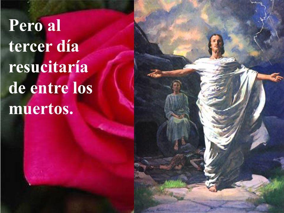 Un día sería acusado por los jefes religiosos del pueblo, y llevado ante el tribunal romano para ser juzgado hasta llegar a la cruz..