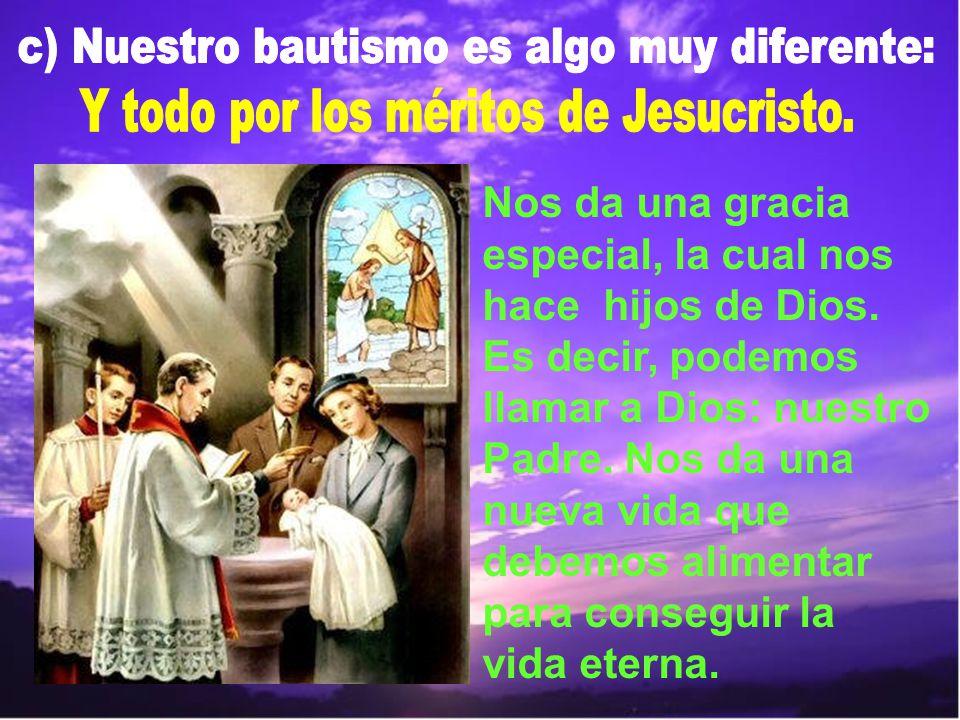 El Bautismo de Jesús es un signo de humildad.