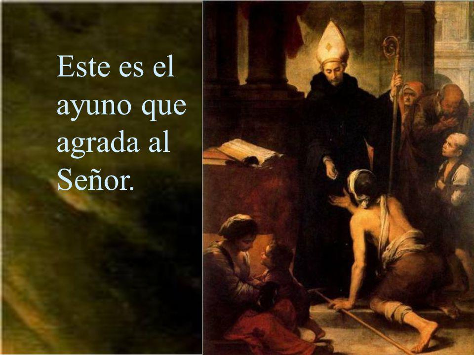 Practicar las obras de misericordia.