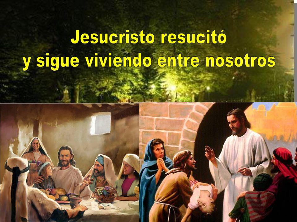 Quien más unido haya estado con Jesús en su Pasión, más sentirá la verdadera alegría por la Resurrección.